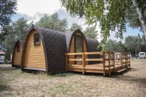 glamping pod madera camping