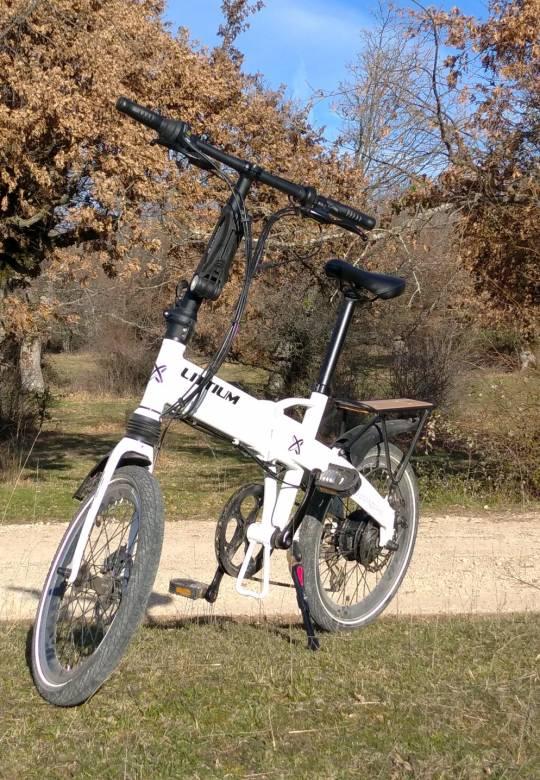 bici electrica ruta via verde