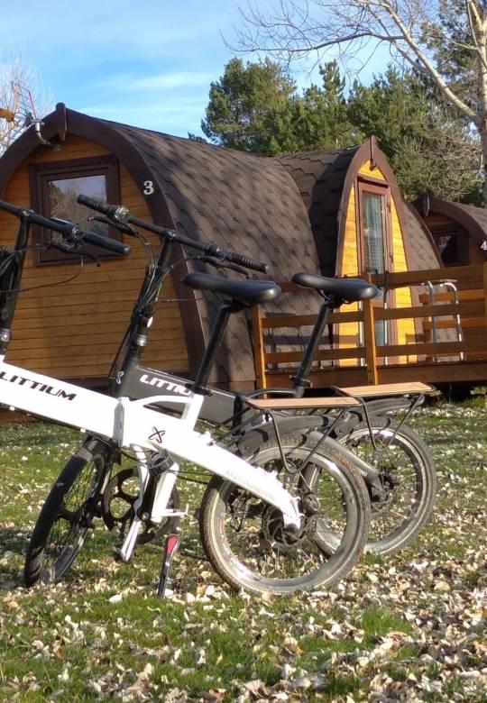 bicis electricas camping rutas provincia de Burgos
