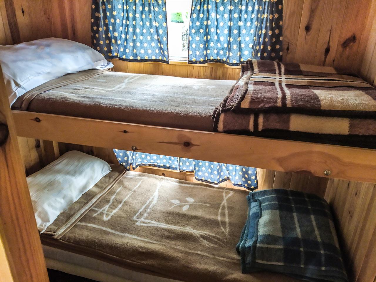 mobile home - habitación de dos literas