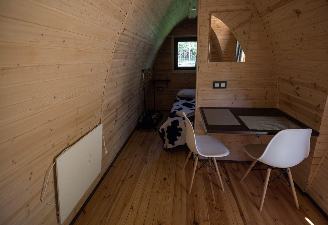 interior de pod