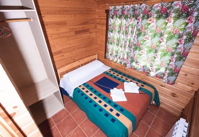 dormitorio de bungalow de 2 habitaciones