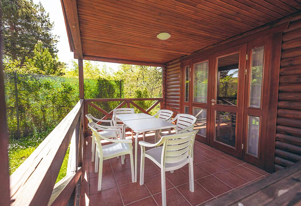 terraza bungalow 3 habitaciones
