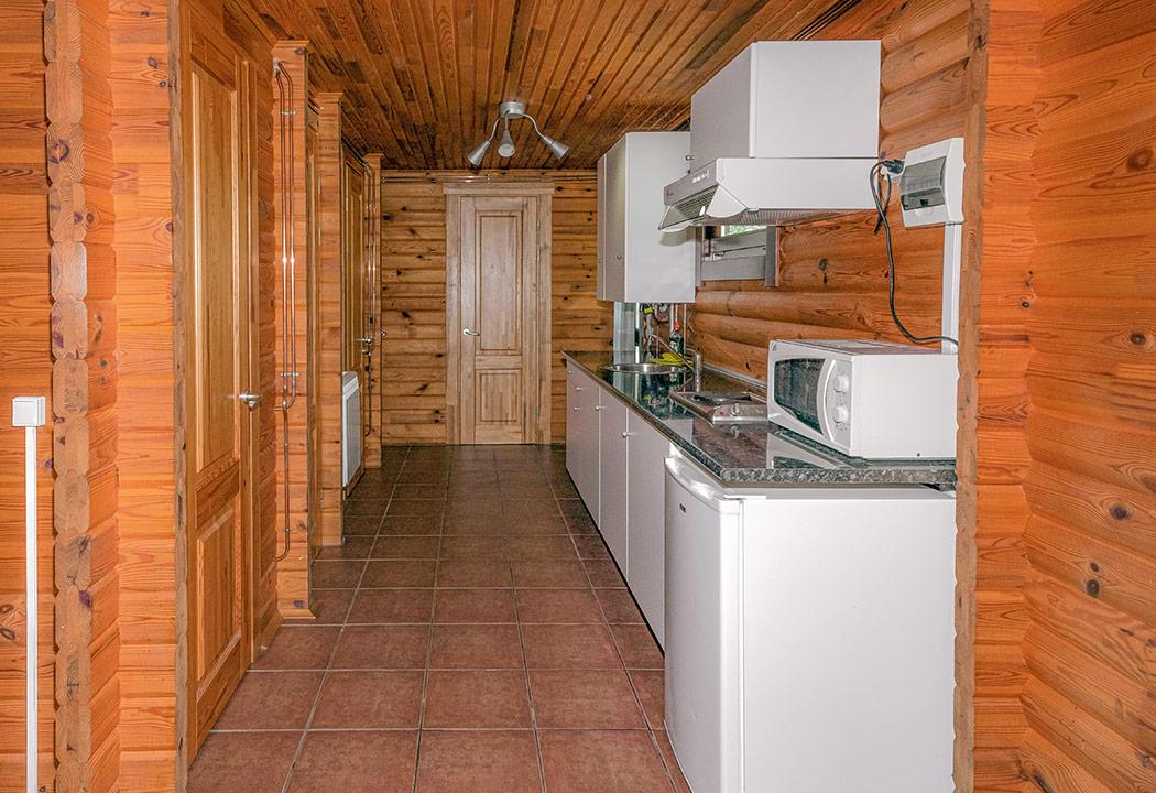 cocina bungalow de 3 habitaciones
